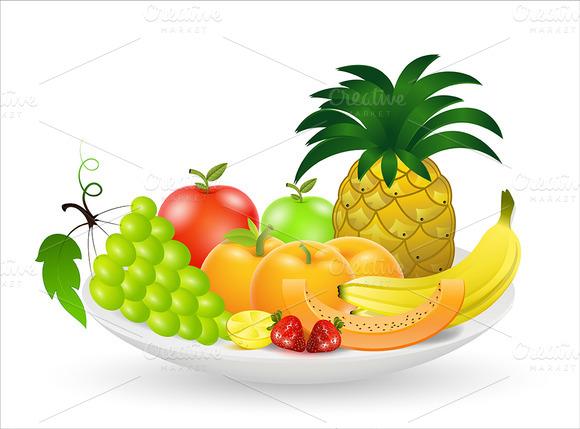 Fruits Vectors