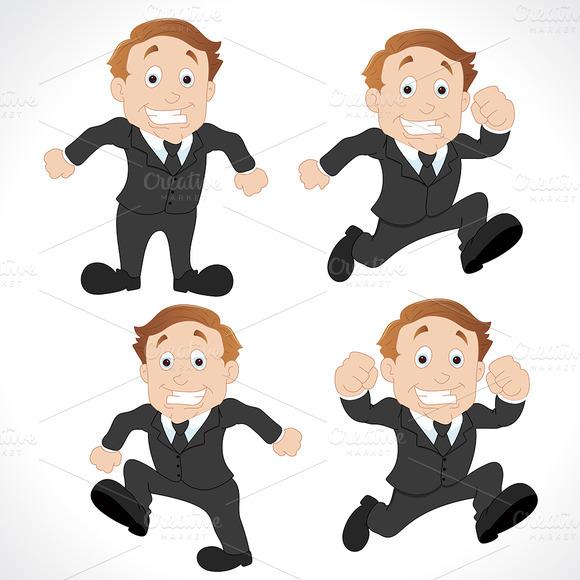 Businessman Mascots Characters