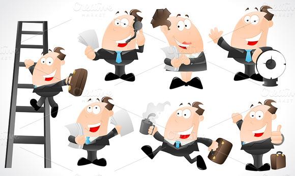 Office Guys Character Vectors