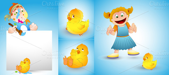 Happy Easter Vector Graphics