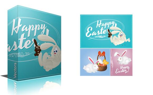 Happy Easter Vector Designs