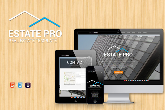 Estate One Page Real Estate Theme