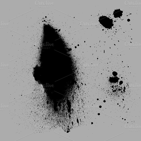 Grunge Spray Vector