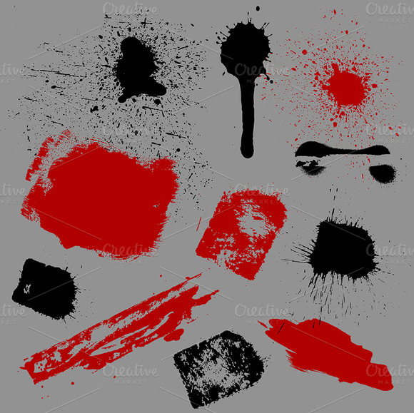 Splash And Grunge Brushes