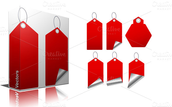 Set Of Tags Vectors