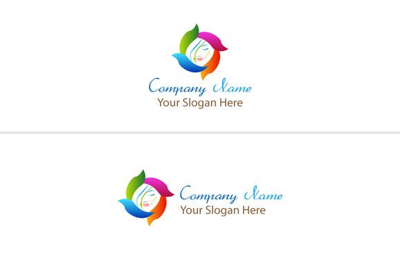 Flower With Women Logo