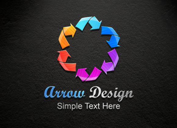 Arrow Design Logo
