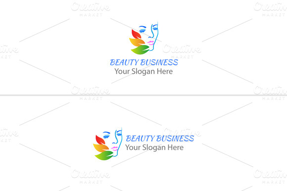 Beauty Salon Face Logo