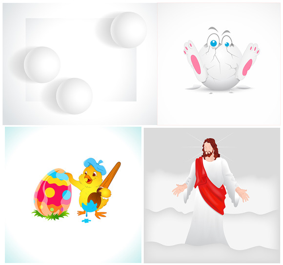Easter Graphics Vector Designs
