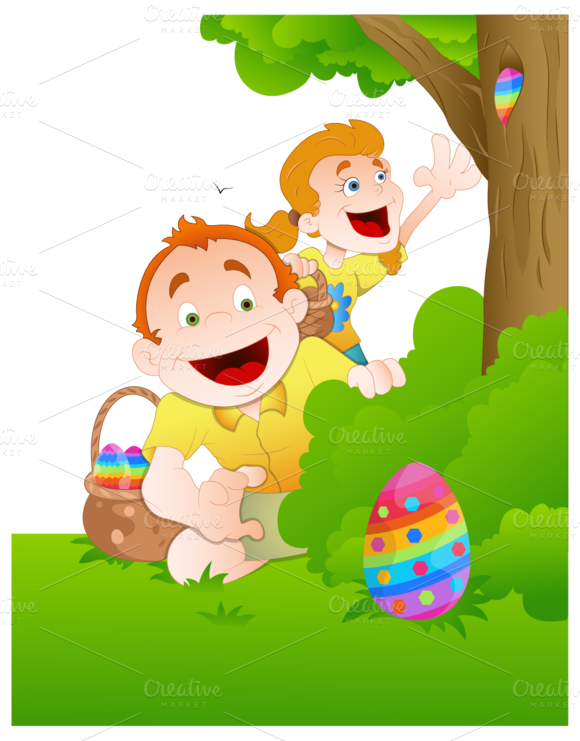 Easter Background Illustrations