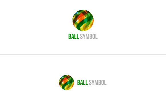 Ball Symbol Logo