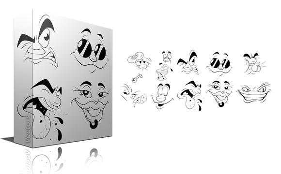 Cartoon Faces Impressions