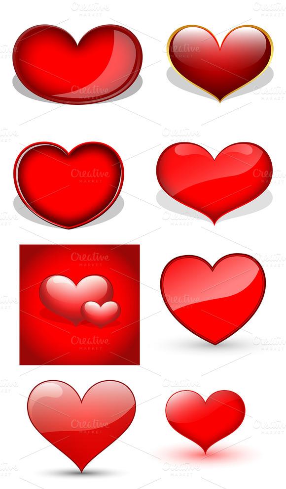 Hearts Vectors
