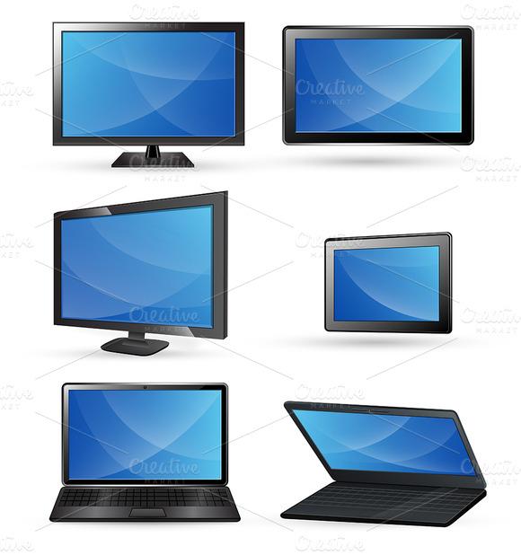 Tablet Laptop TV Computer