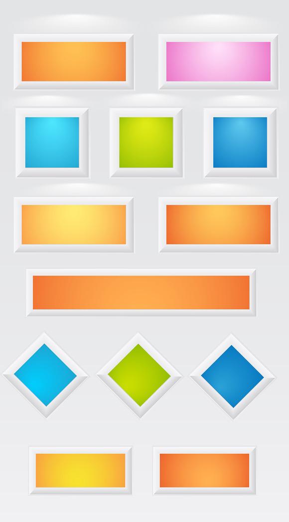 3D Frames Boxes