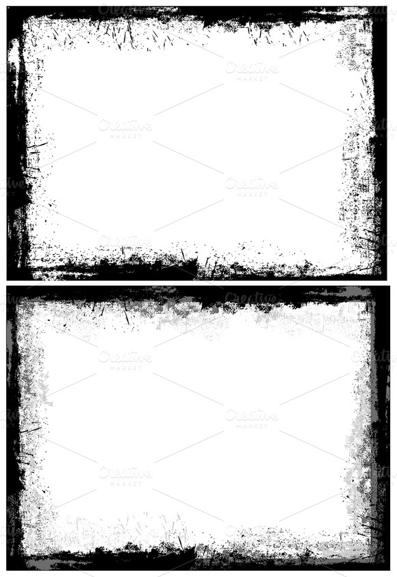 Grunge Dirty Frames Borders