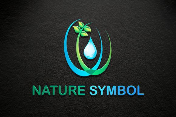 Nature Symbol Logo