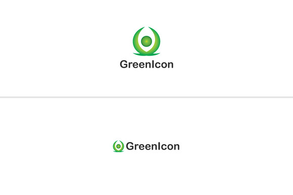 Green Icon Logo