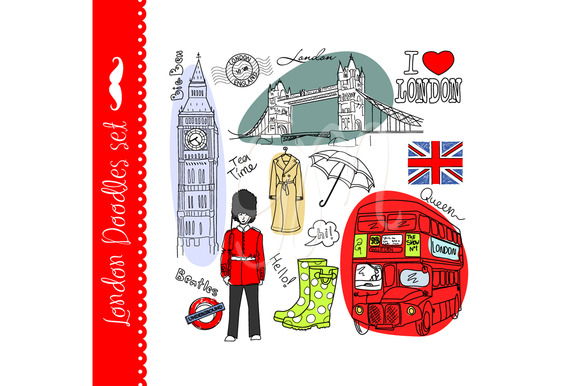London Clip Art Big Ben Red Bus
