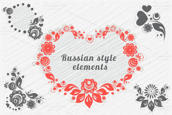 Russian Style Floral Designs