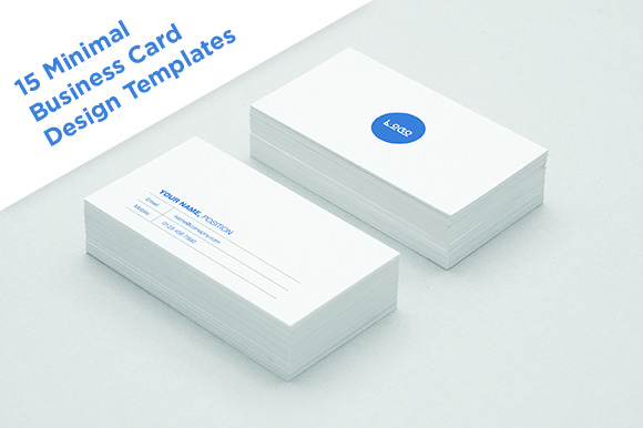 15 Minimal Business Card Designs