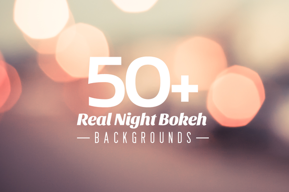 50 Real Night Bokeh Backgrounds