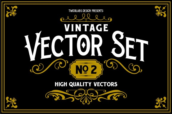 Vintage Vector Set 2