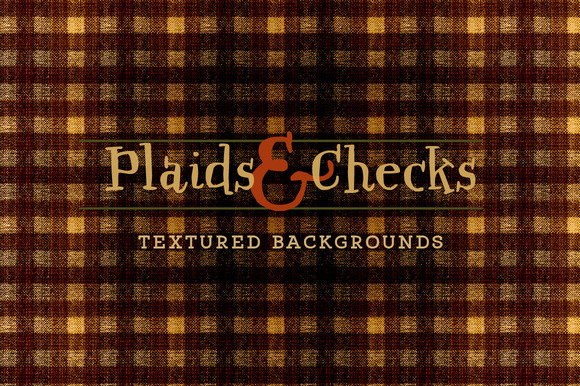 Plaid Check Autumn Fall Fabrics