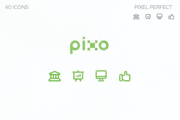 Pixo Icons