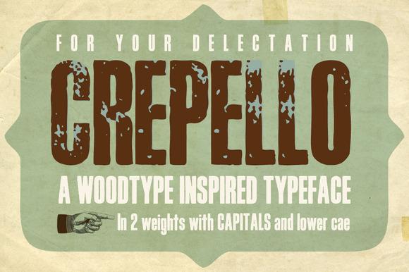 Crepello Typeface