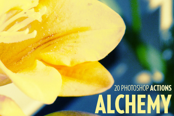 Alchemy 20 Photoshop Actions