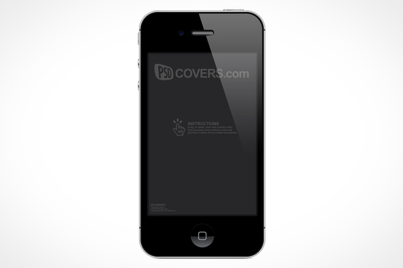 IPhone 4S PSD Action Product Mock-Up