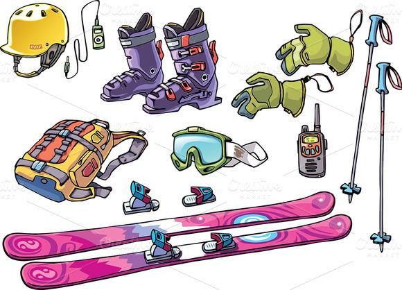Backcountry Freeride Skier S Stuff