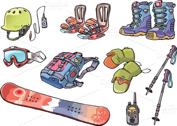 Snowboard Freerider S Stuff