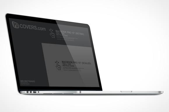 MacBook Retina Right Quarter View
