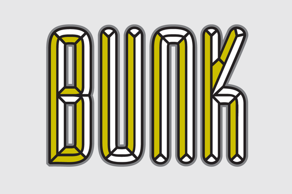 BUNK Layer Kit Font Pack