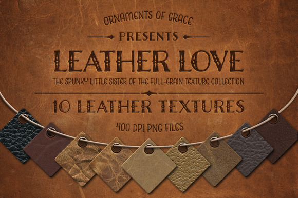 Leather Love 10 Leather Textures