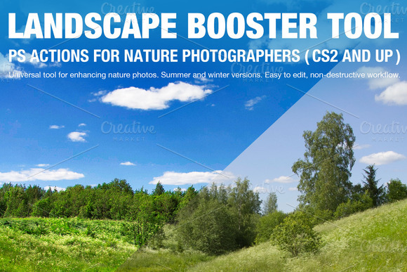 Landscape Booster Action