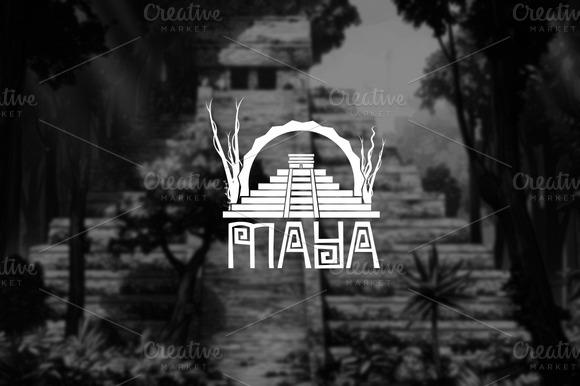 Logo Template MAYA