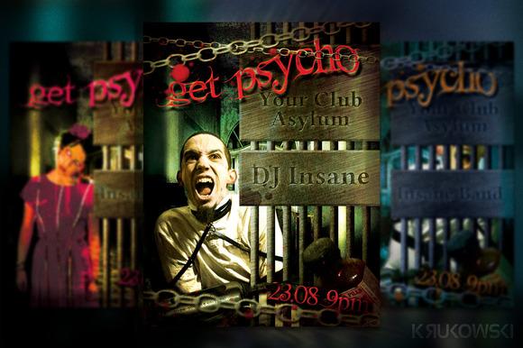 Get Psycho Flyer Poster