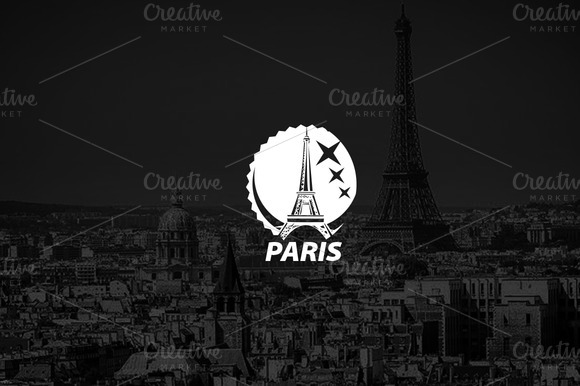 Logo Template PARIS