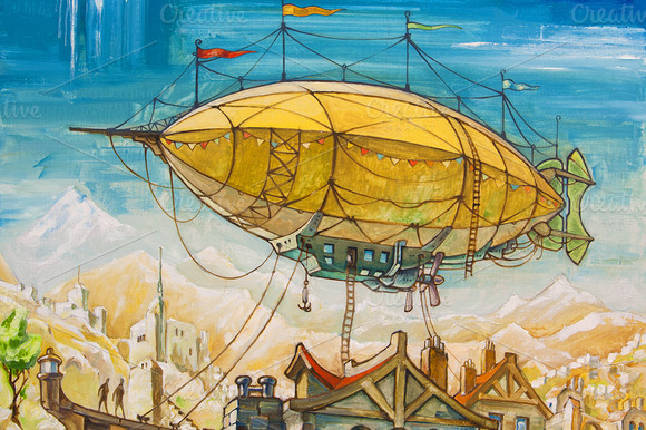 Oil Dirigible