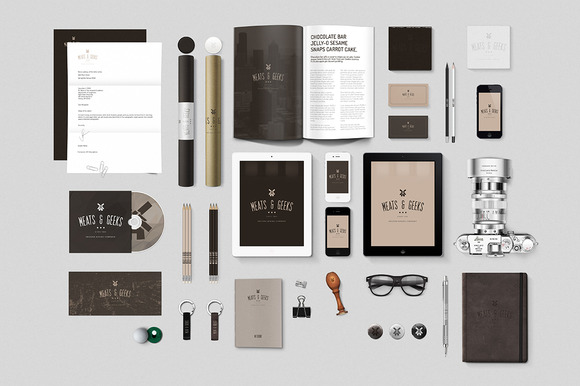 Realistic Stationery Mock-ups