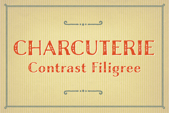 Charcuterie Filigree