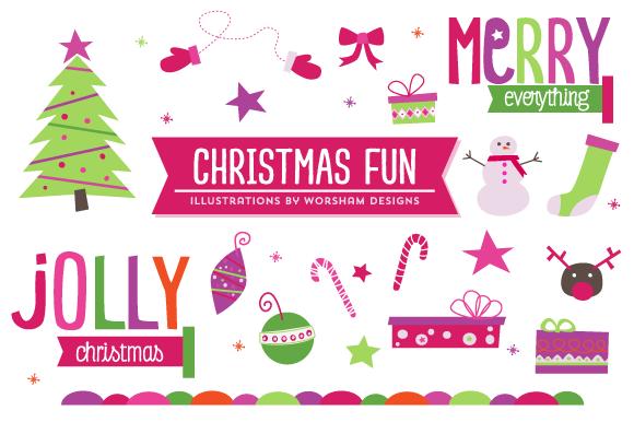 Christmas Fun Clipart