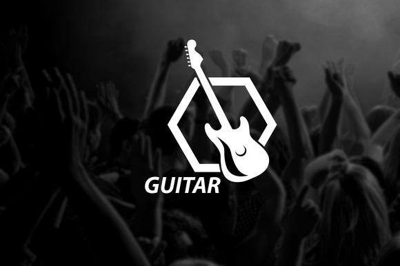 Logo Template GUITAR