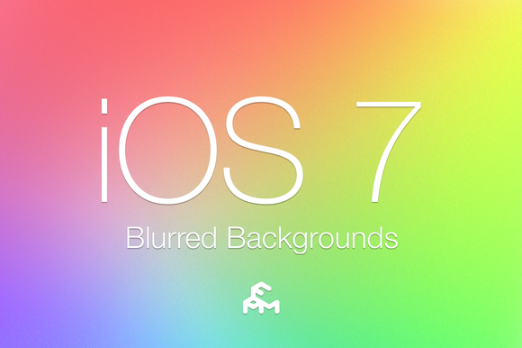 30 IOS 7 Blurred Backgrounds