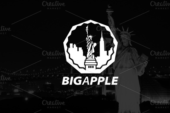 Logo Template BIGAPPLE