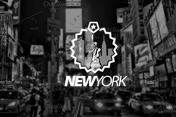 Logo Template NEW YORK