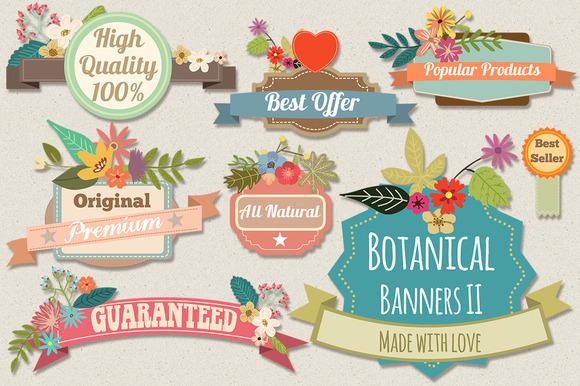 Botanical Banners II